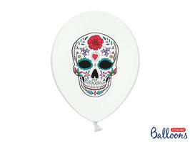 """10 Luftballons """"Dia de los Muertos"""""""