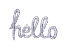 "Folienballon ""Hello"" Holographic"