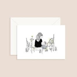Postkarte My lovely thing- Vegetal break boy