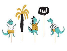Cake Topper Dinosaurier