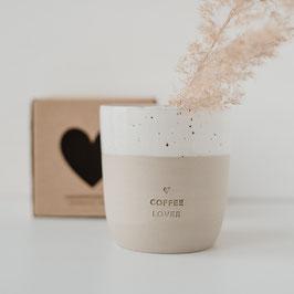 """Becher Eulenschnitt """"Coffee Lover"""""""