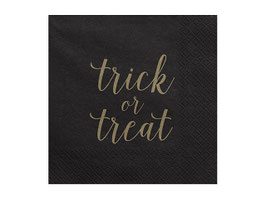 "Servietten ""Trick or treat"""
