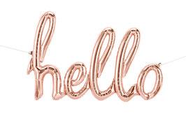 Folienballon HELLO