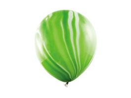 Luftballonset Marble Grün