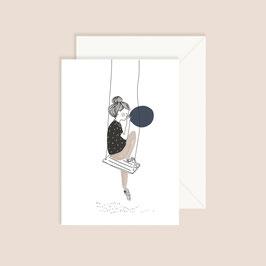 Postkarte My lovely thing-Balloon
