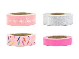 Washi Tape Pink Mix