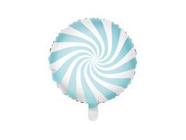 Folienballon Candy Hellblau