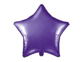 Folienballon Stern Lila