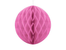 Wabenball Pink 20 cm / 30 cm
