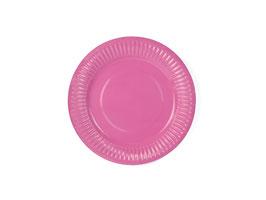 Partyteller Pink Uni
