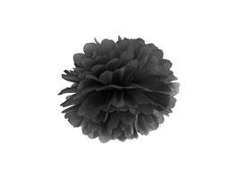 Pompom Schwarz 25 cm / 35 cm