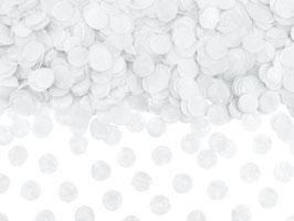 Konfetti Weiß 15mm