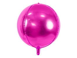 Folienballon Kugel Pink