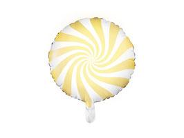 Folienballon Candy Gelb