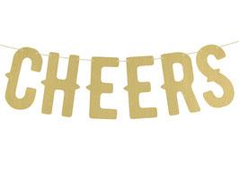 Girlande Cheers Gold