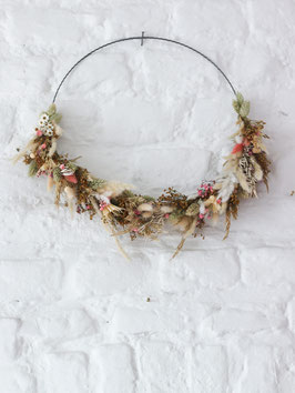 DIY Floral Hoop Set