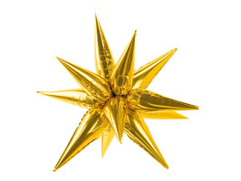 Folienballon Golden Star 95 cm