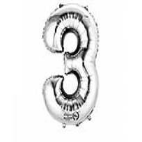 """XL Folienballon Zahl """"3"""""""