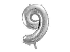"""XL Folienballon Zahl """"9"""""""
