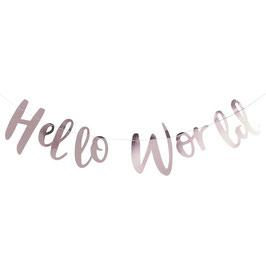 Girlande Hello World