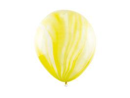Luftballonset Marble Gelb