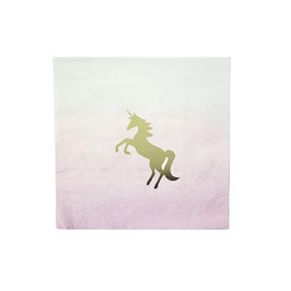 Serviette Unicorn