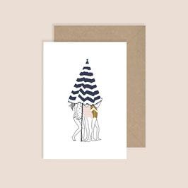 Postkarte My lovely thing-little secrets