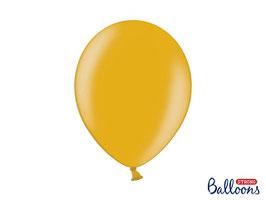10 Luftballons 30 cm Gold