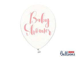 10 Luftballons 30 cm Baby Shower Rosa