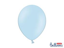 10 Luftballons 30 cm Hellblau