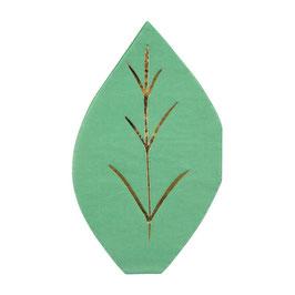 Servietten Leaf