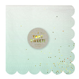 Servietten Toot Sweet Ombre