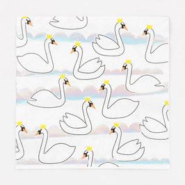Servietten Swan