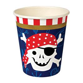 Becher Pirat