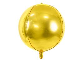 Folienballon Kugel Gold
