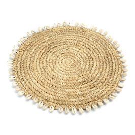 Tischset Raffia Shell