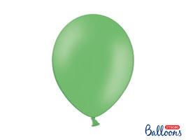 10 Luftballons 30 cm Grasgrün