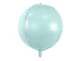 Folienballon Kugel Mint