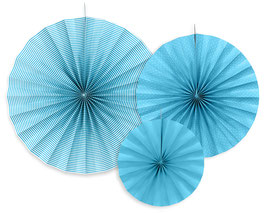Rosetten Set Blau Mustermix