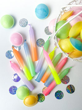 Geburtstagskerzen Set Candy Party