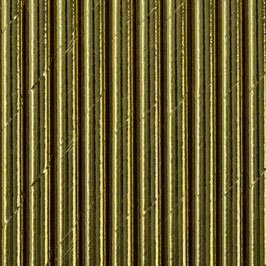 Papierstrohhalme Gold Uni