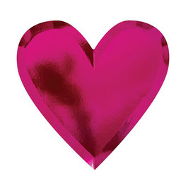 Partyteller Herz Pink