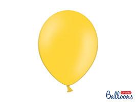 10 Luftballons 30 cm Gelb