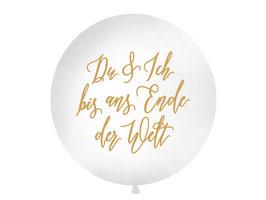 """Riesenballon """"Du & Ich"""""""