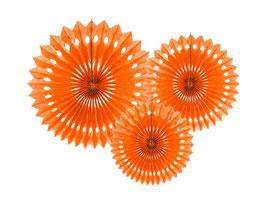 Rosetten Set Orange