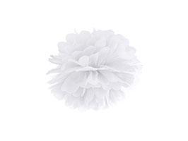 Pompom Weiß 25 / 35 cm