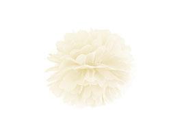 Pompom Creme 25 cm / 35 cm
