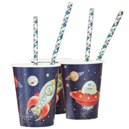 "Becher ""Space Adventure Party"""