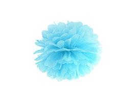 Pompom Hellblau 25 cm / 35 cm