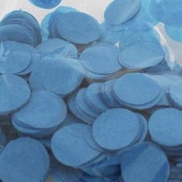 Konfetti Blau 25mm